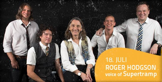 ROGER HODGSON voice of Supertramp